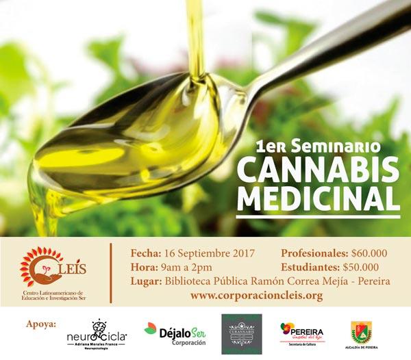 Seminario Cannabis Medicinal Cleis
